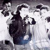 De gauche à droite : Jean, Shooky (mon surnom de rappeur) et Azoe